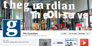 Facebook page of The Guardian