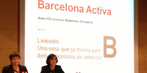 """How recruiters use LinkedIn in the recruritment process"" at Barcelona Activa on April 23th, 2012"