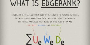 What is EdgeRank? [infographic] by PostRocket