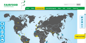 Global Map of hotspots of Fairfood International