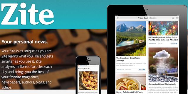 Zite (screenshot)