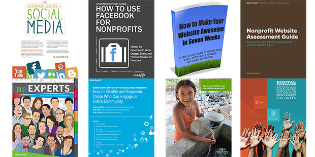 8 Free eBooks to guide your Nonprofit Marketing