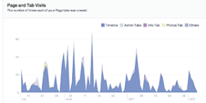 Facebook Page Views statistics