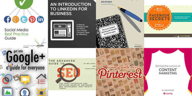 8 Free eBooks to guide your Social Media Marketing