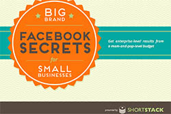 Big Brand Facebook Secrets for Small Businesses by ShortStack