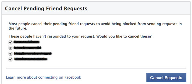 FAcebookSecurity_cancelpendingrequests